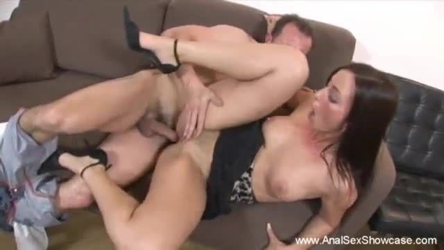 Doctor gives milf rough anal sex
